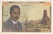 Cameroon 100 Francs Pdt Ahidjo - 1962 - Serial R.16