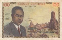 Cameroon 100 Francs Pdt Ahidjo - 1962 - Serial S.8