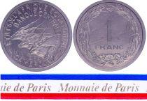 Cameroun 1 Franc - 1969 - Essai