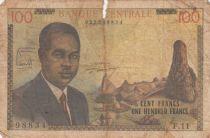 Cameroun 100 Francs Pdt Ahidjo - 1962 Série F.11