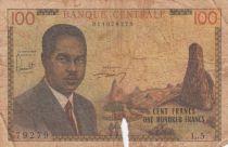 Cameroun 100 Francs Pdt Ahidjo - 1962 Série L.5
