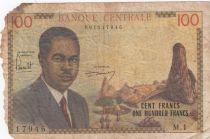 Cameroun 100 Francs Pdt Ahidjo - 1962 Série M.1
