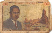 Cameroun 100 Francs Pdt Ahidjo - 1962 Série U.18 - B