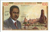 Cameroun 100 Francs Pdt Ahidjo - Bateaux - 1962