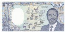 Cameroun 1000 Francs Omar Bongo 1986 - Carte BEAC complète - Série Z.02