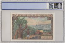 Cameroun 500 Francs Elevage, Agriculture - 1962 - PCGS 64