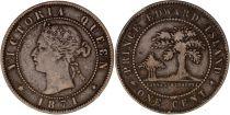 Canada 1 Cent - Reine Victoria - 1871