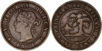 Canada 1 Cent - Victoria Queen - 1871