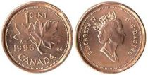 Canada 1 Cent Maple Leaf