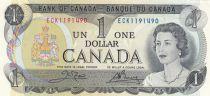 Canada 1 Dollar - Elizabeth II - Ottawa River - 1973 - P.85a - aUNC