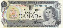Canada 1 Dollar - Elizabeth II - Rivière d\'Ottawa - Parlament - 1973