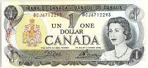 Canada 1 Dollar, Elizabeth II - Bateaux - 1973