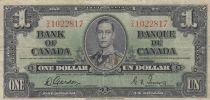 Canada 1 Dollar ND 1937 - George VI