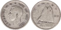 Canada 10 Cents 1941 - George VI - Argent