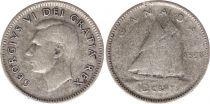 Canada 10 Cents 1950 - George VI - Silver