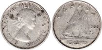 Canada 10 Cents 1960 - Elizabeth II - Argent