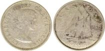Canada 10 Cents 1962 - Elizabeth II - Argent