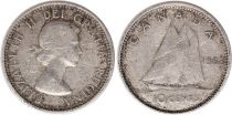Canada 10 Cents 1963 - Elizabeth II - Argent