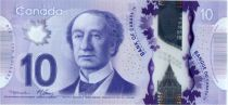 Canada 10 Dollars Sir J.A. Macdonald - Train  - 2013