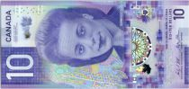 Canada 10 Dollars Violette Desmond - 2018 Polymer