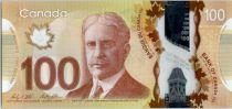 Canada 100 Dollars Sir R. Borden - Insuline - 2011 (2016)