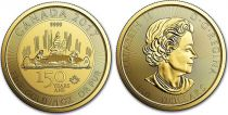 Canada 150 Dollars Elisabeth II - 1 Once Or 150 ans Confédération -2017