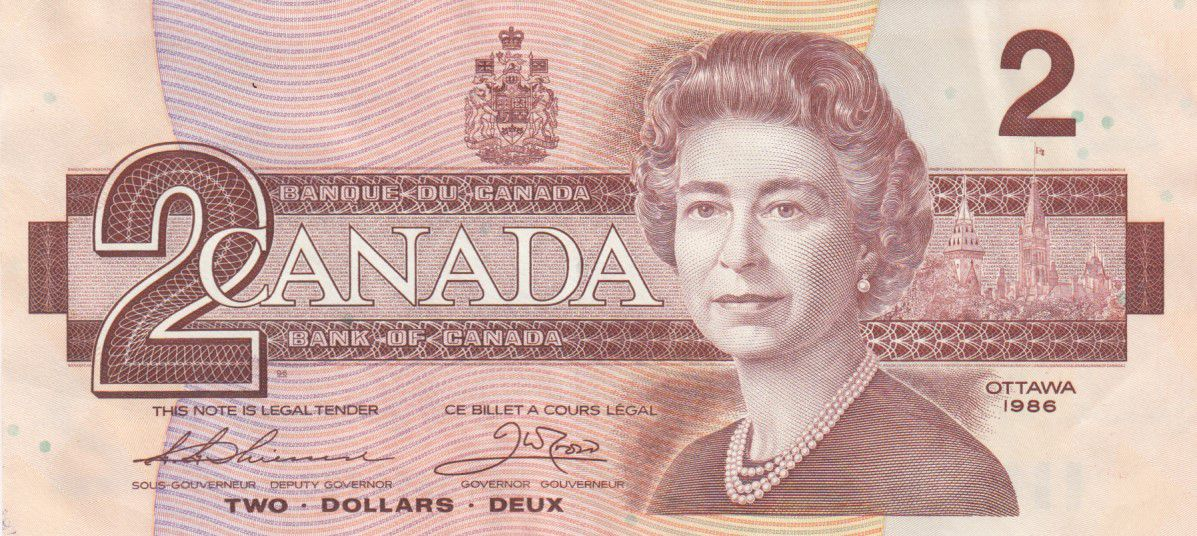 Canada 2 Dollars Elisabeth II - 1986 - P.94b - SUP