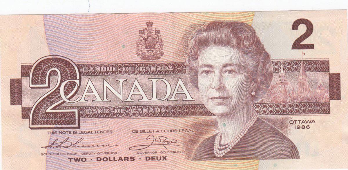 Canada 2 Dollars Elisabeth II - 1986 - P.94b - SUP Série BGW