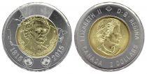 Canada 2 Dollars Elisabeth II - John MacDonald 2015