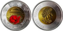 Canada 2 Dollars Elizabeth II - Armistice 1918 - Colorised