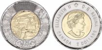 Canada 2 Dollars Elizabeth II - In Flanders Field 2015