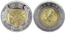 Canada 2 Dollars Elizabeth II - Wait for me Daddy - 2014