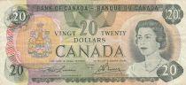 Canada 20 Dollars 1979 Elisabeth II - Armoiries, lac, mountagnes, sign. Lawson-Bouey