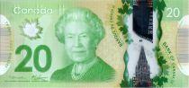 Canada 20 Dollars Elisabeth II - Monument - Polymer 2012