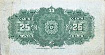 Canada 25 Cent Britannia - 1923 - Série J