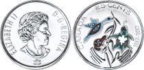 Canada 25 Cents - 1867/2017- Colorisée