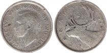 Canada 25 Cents 1943 - George VI - Argent