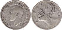 Canada 25 Cents 1944 - George VI - Silver
