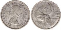 Canada 25 Cents 1958 -  Elisabeth II - Silver