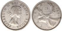 Canada 25 Cents 1961 -  Elisabeth II - Silver