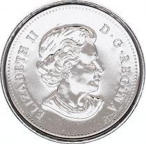 Canada 25 Cents 50 ans du drapeau canadien - 2015