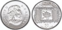 Canada 25 Cents 50 years of the flag - 2015