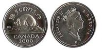 Canada 5 Cents Canadian Beaver - Elizabeth II