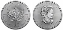 Canada 5 Dollars Elisabeth II - 1 Once Maple Leaf Argent 2019