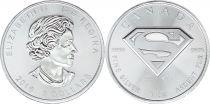 Canada 5 Dollars Elizabeth II - Superman silver 1 Oz 2016