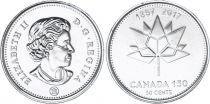 Canada 50 Cents - Logo 1867/2017 - 2017