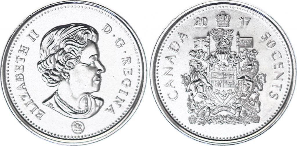 Canada 50 Cents - Type courant - 2017