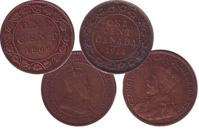 Canada LOT.1 Edouard VII, Georges V