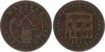 Canada Nova Scotia 1/2 Penny Halifax  - 1816