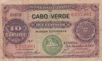 Cap-Vert 10 Centavos - 1914 - TB - P.20